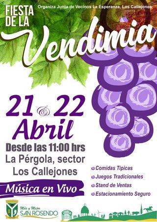 Fiesta de la Vendimia 2018 • Los Callejones