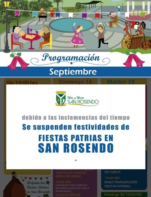 SAN ROSENDO - Fiestas Patrias 2018