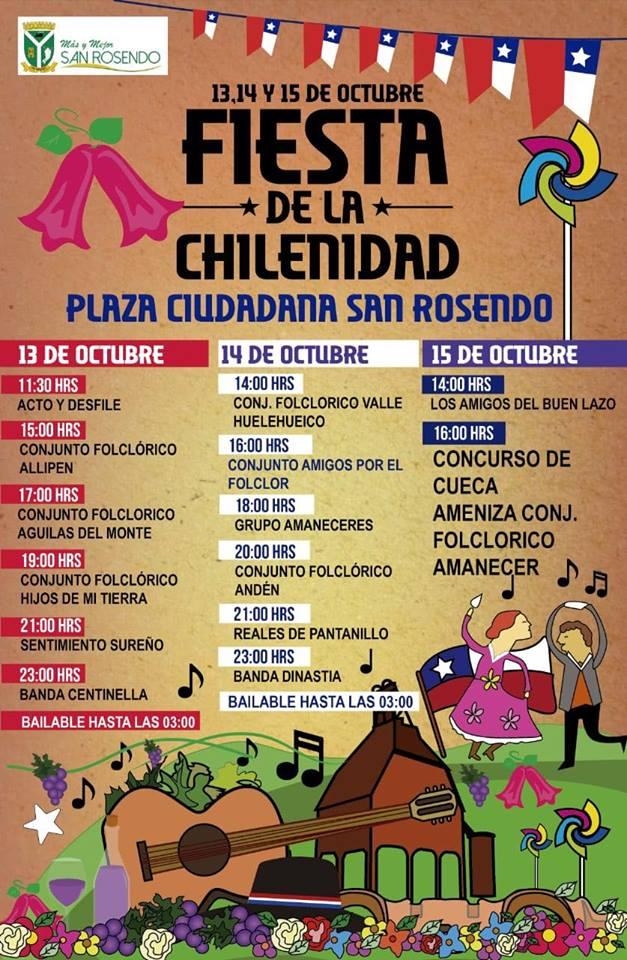 San Rosendo / Fiesta de la Chilenidad