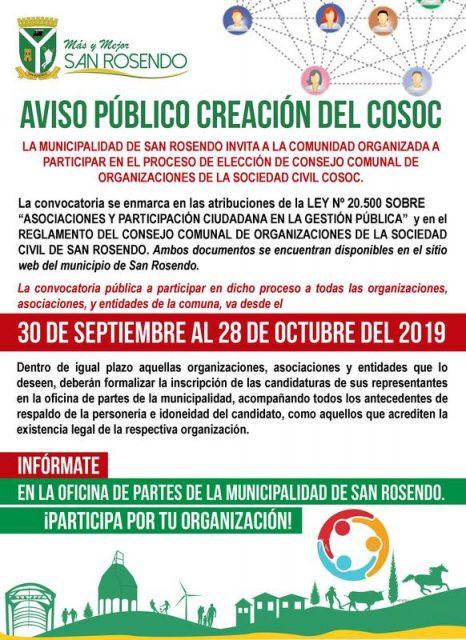 San Rosendo • COSOC 2019