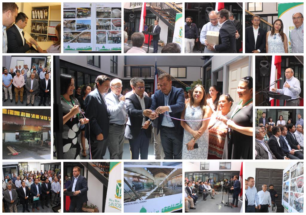 San Rosendo • Inauguración Departamento Social